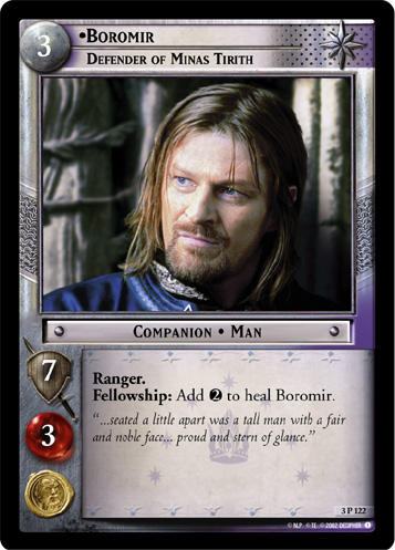 Boromir, Defender of Minas Tirith (3P122) Card Image