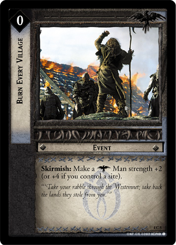Burn Every Village (4C5) Card Image