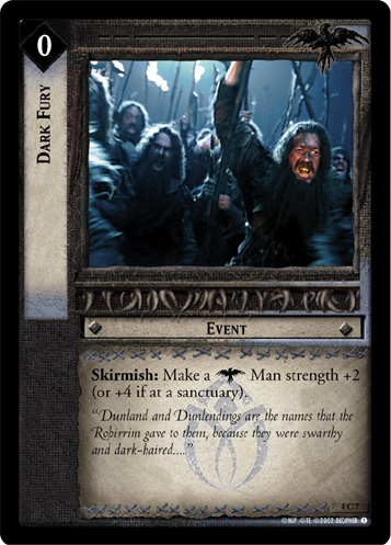 Dark Fury (4C7) Card Image