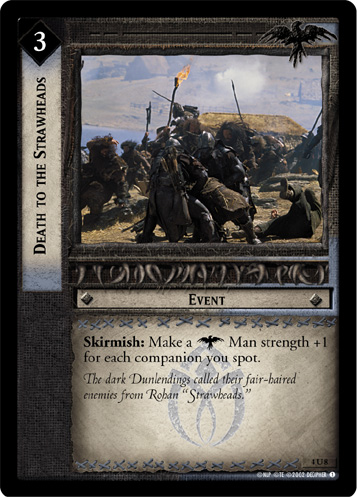 Death to the Strawheads (4U8) Card Image