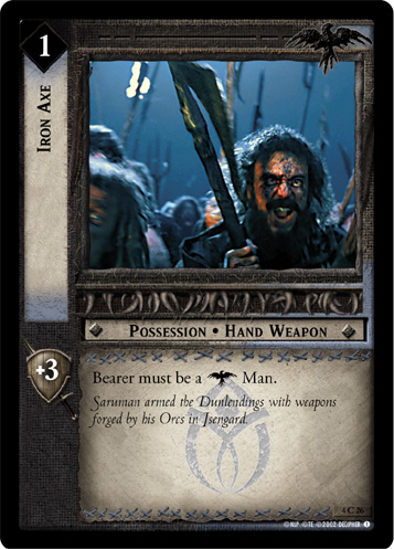 Iron Axe (4C26) Card Image