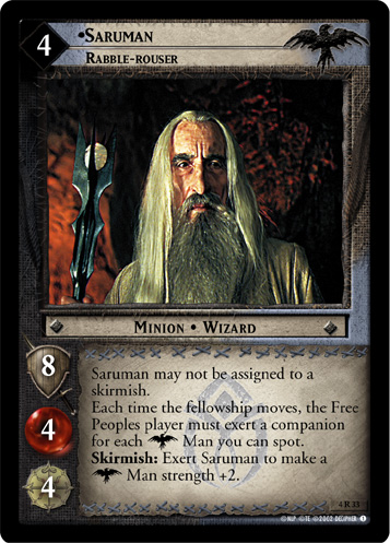 Saruman, Rabble-rouser (4R33) Card Image