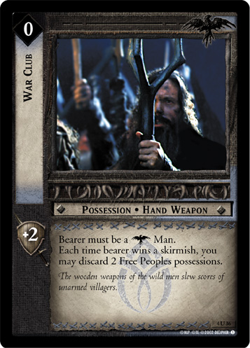 War Club (4U36) Card Image