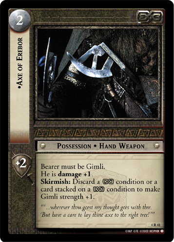 Axe of Erebor (4R41) Card Image