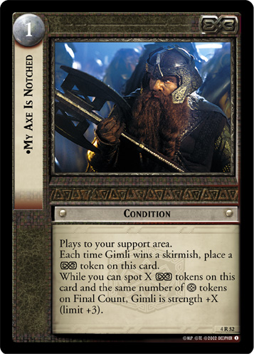 My Axe Is Notched (4R52) Card Image