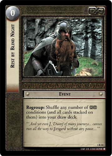 Rest by Blind Night (4R54) Card Image