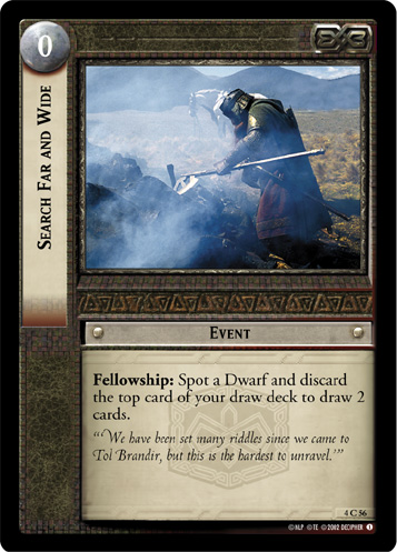 Search Far and Wide (4C56) Card Image