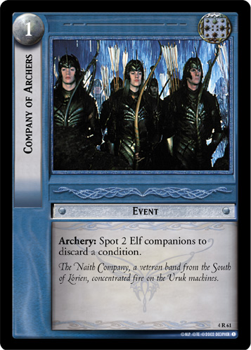 Company of Archers (4R61) Card Image
