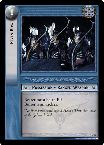 Elven Bow (4U62) Card Image