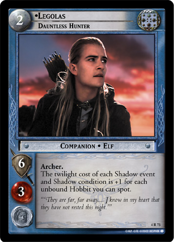Legolas, Dauntless Hunter (4R73) Card Image