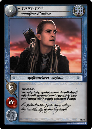 Legolas, Dauntless Hunter (T) (4R73T) Card Image