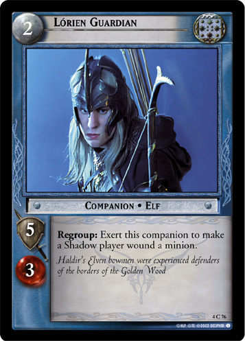 Lorien Guardian (4C76) Card Image