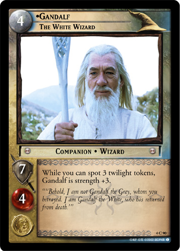 Gandalf, The White Wizard (4C90) Card Image
