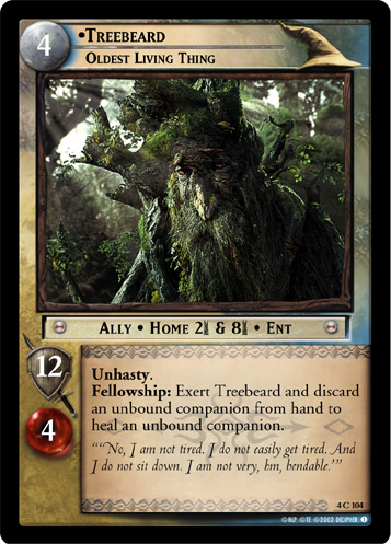 Treebeard, Oldest Living Thing (4C104) Card Image
