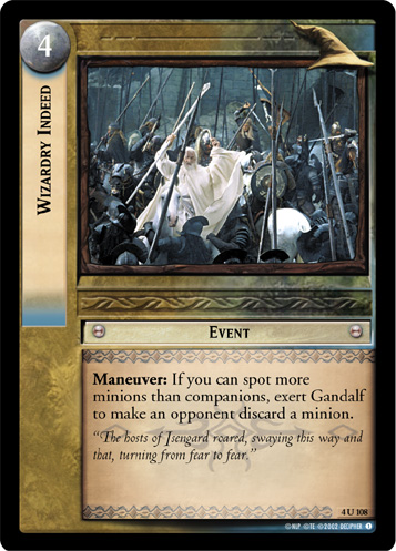 Wizardry Indeed (4U108) Card Image
