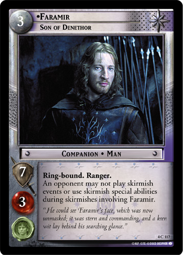 Faramir, Son of Denethor (4C117) Card Image