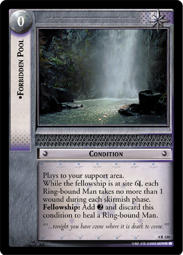 Forbidden Pool (4R120) Card Image
