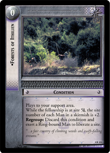 Forests of Ithilien (4R121) Card Image