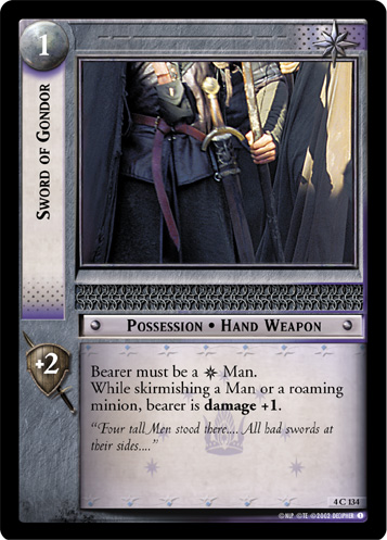 Sword of Gondor (4C134) Card Image