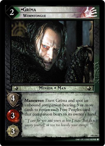 Grima, Wormtongue (4R154) Card Image