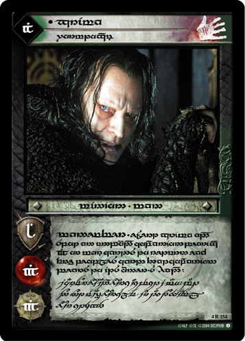 Grima, Wormtongue (T) (4R154T) Card Image