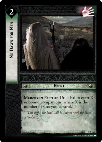 No Dawn for Men (4R163) Card Image