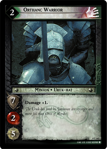 Orthanc Warrior (4C165) Card Image