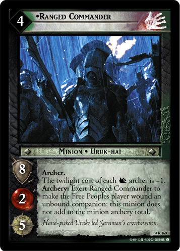 Ranged Commander (4R169) Card Image
