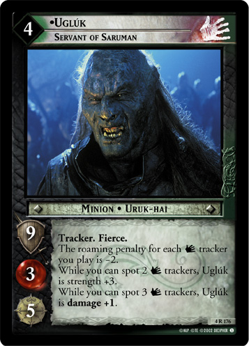 Ugluk, Servant of Saruman (4R176) Card Image