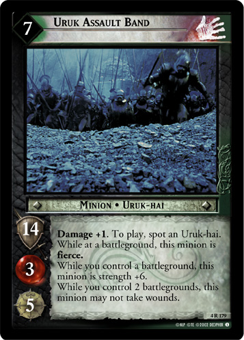 Uruk Assault Band (4R179) Card Image