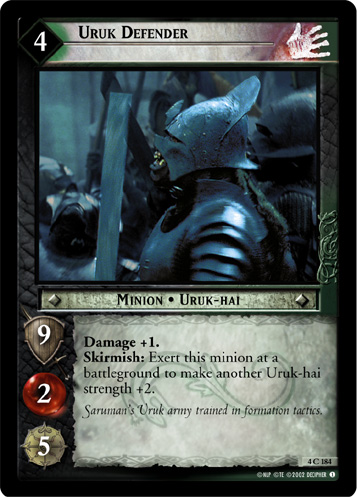 Uruk Defender (4C184) Card Image