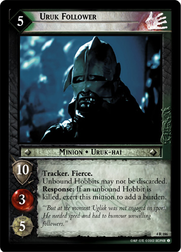Uruk Follower (4R186) Card Image