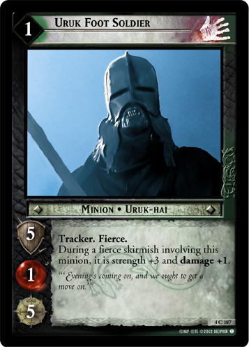 Uruk Foot Soldier (4C187) Card Image