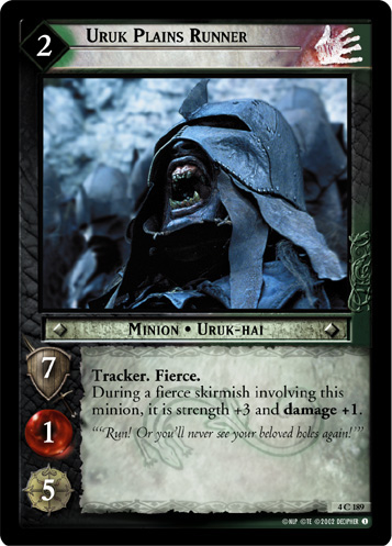 Uruk Plains Runner (4C189) Card Image