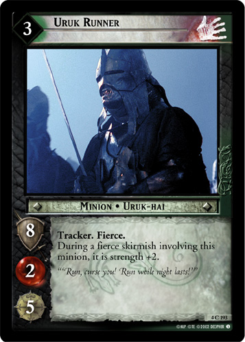 Uruk Runner (4C193) Card Image