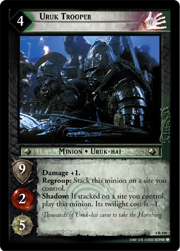 Uruk Trooper (4R199) Card Image