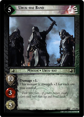 Uruk-hai Band (4U202) Card Image