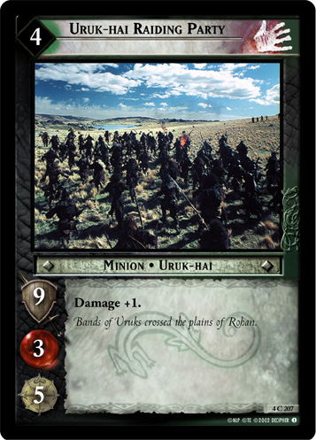 Uruk-hai Raiding Party (4C207) Card Image