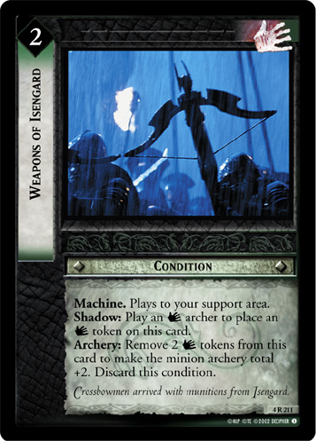 Weapons of Isengard (4R211) Card Image