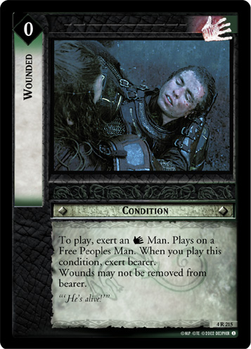 Wounded (4R215) Card Image