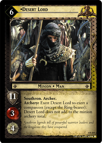 Desert Lord (4R219) Card Image