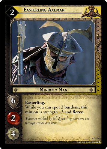 Easterling Axeman (4C224) Card Image