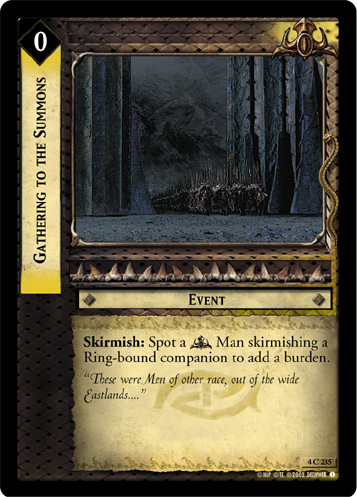 Gathering to the Summons (4C235) Card Image