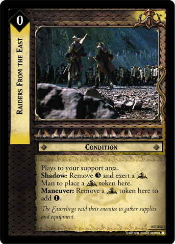 Raiders From the East (4U242) Card Image