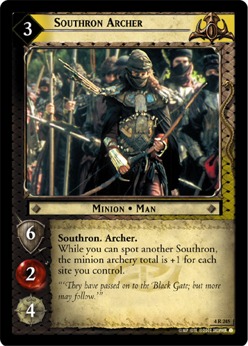 Southron Archer (4R245) Card Image