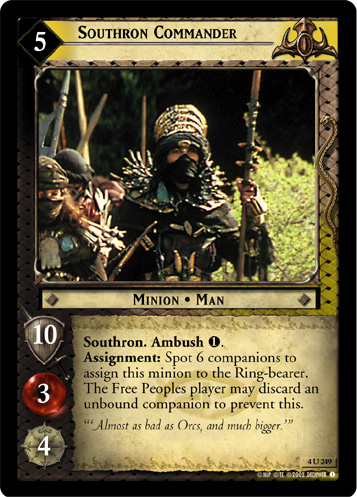 Southron Commander (4U249) Card Image