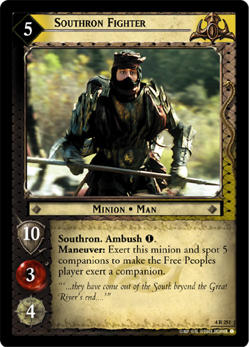 Southron Fighter (4R251) Card Image
