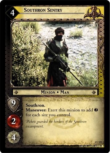 Southron Sentry (4U253) Card Image
