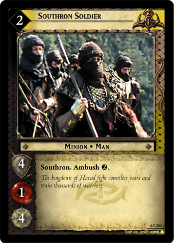 Southron Soldier (4C254) Card Image