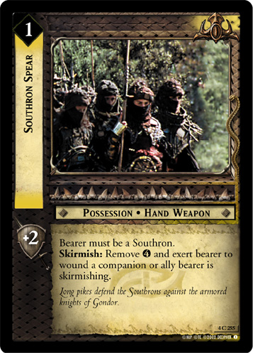 Southron Spear (4C255) Card Image